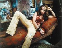 Sheryl Crow and Leather Pants