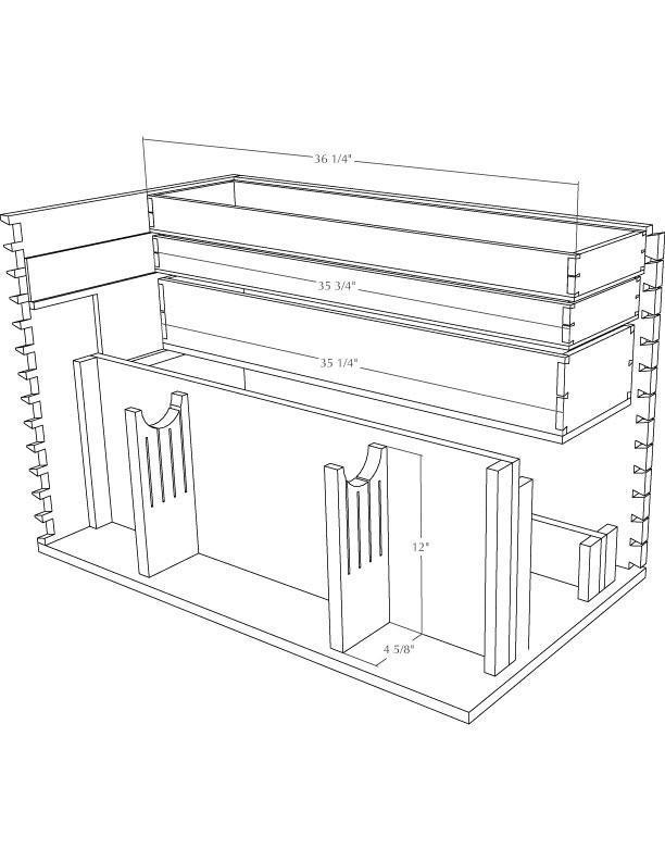 Diy Large Wooden Tool Box Plans Pdf Download King Size Bed