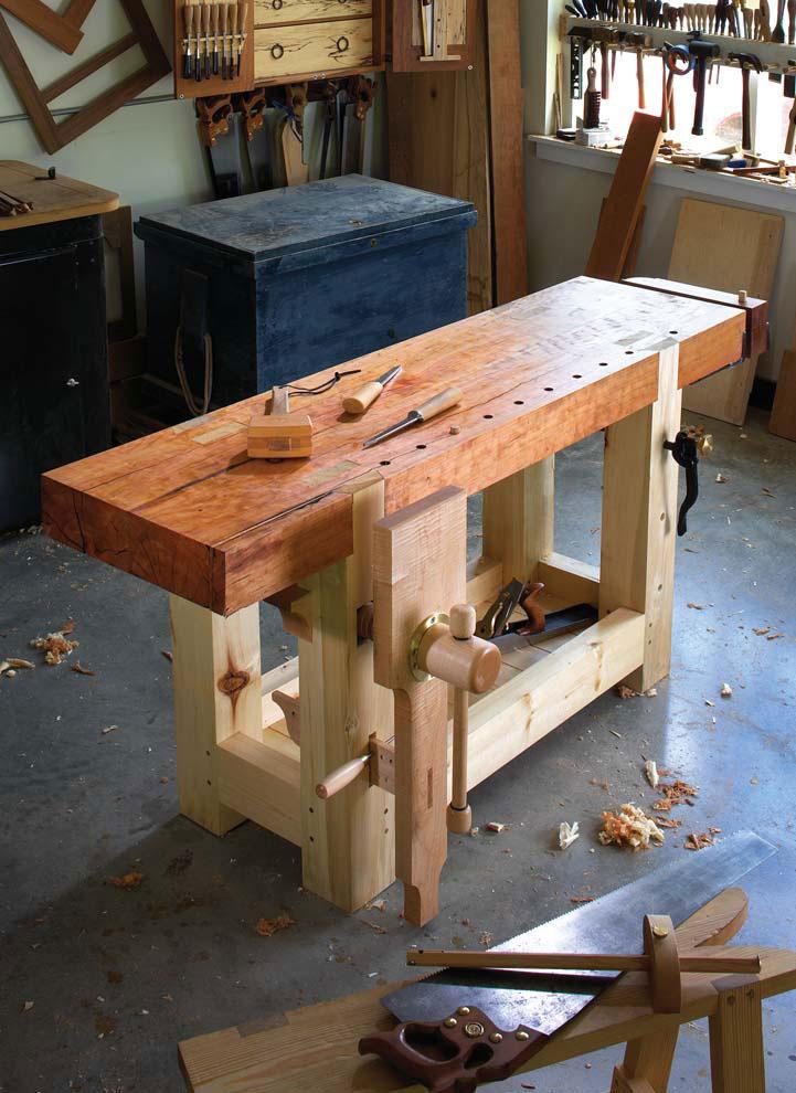 Christopher Schwarz Woodworking Bench
