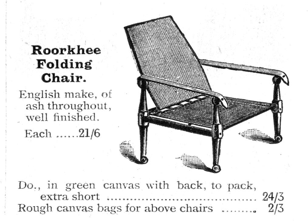 The Roorkhee Chair