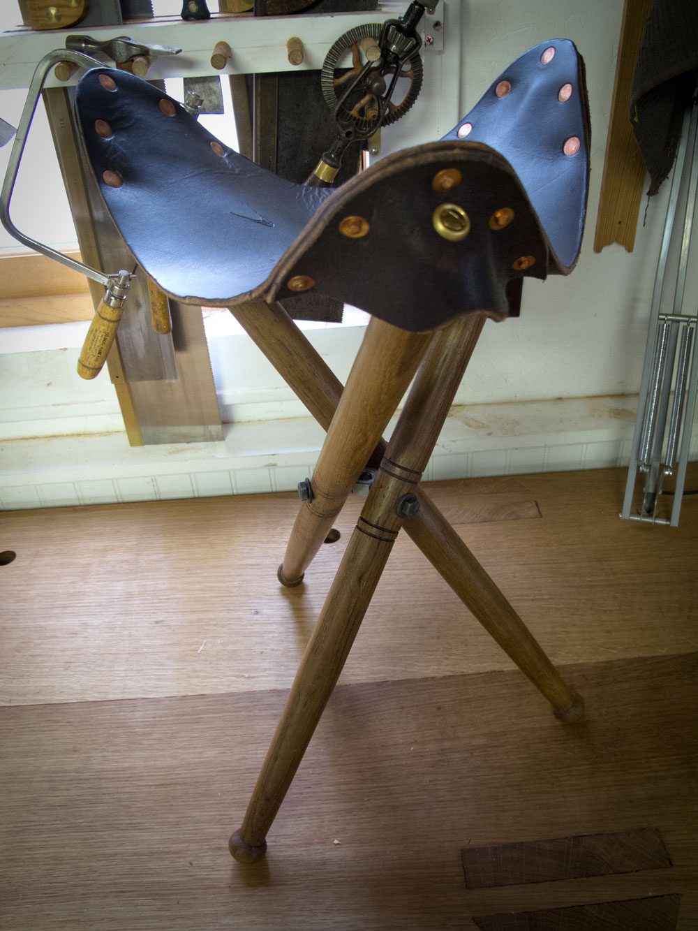 Make Your own Tribolt for a Folding Stool  Lost Art Press