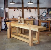 Work With Wet Workbench Tops | Lost Art Press