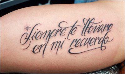 Letras Cursivas Para Tatuajes Información Actualizada 2019