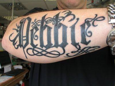 Letras Para Tatuajes Góticas 2019
