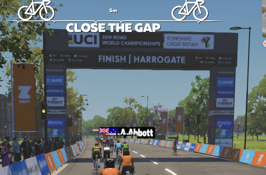 Zwift Harrogate Circuit from 2019 UCI Worlds is Fast and Fun