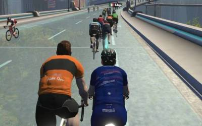 The Highline Badge – Tricky Zwift New York Route