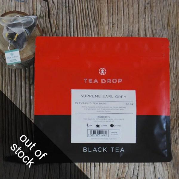 Earl Grey Tea Drop
