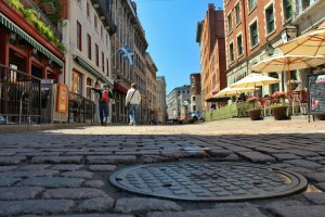 Weekly Photo: Old Town Montreal from the Ground Up.