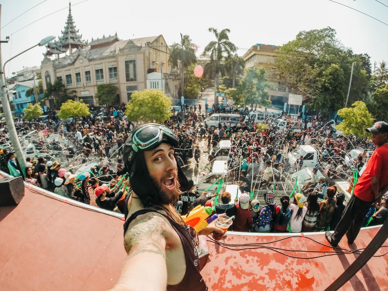 Travel Video: Myanmar's Thingyan New Year Festival