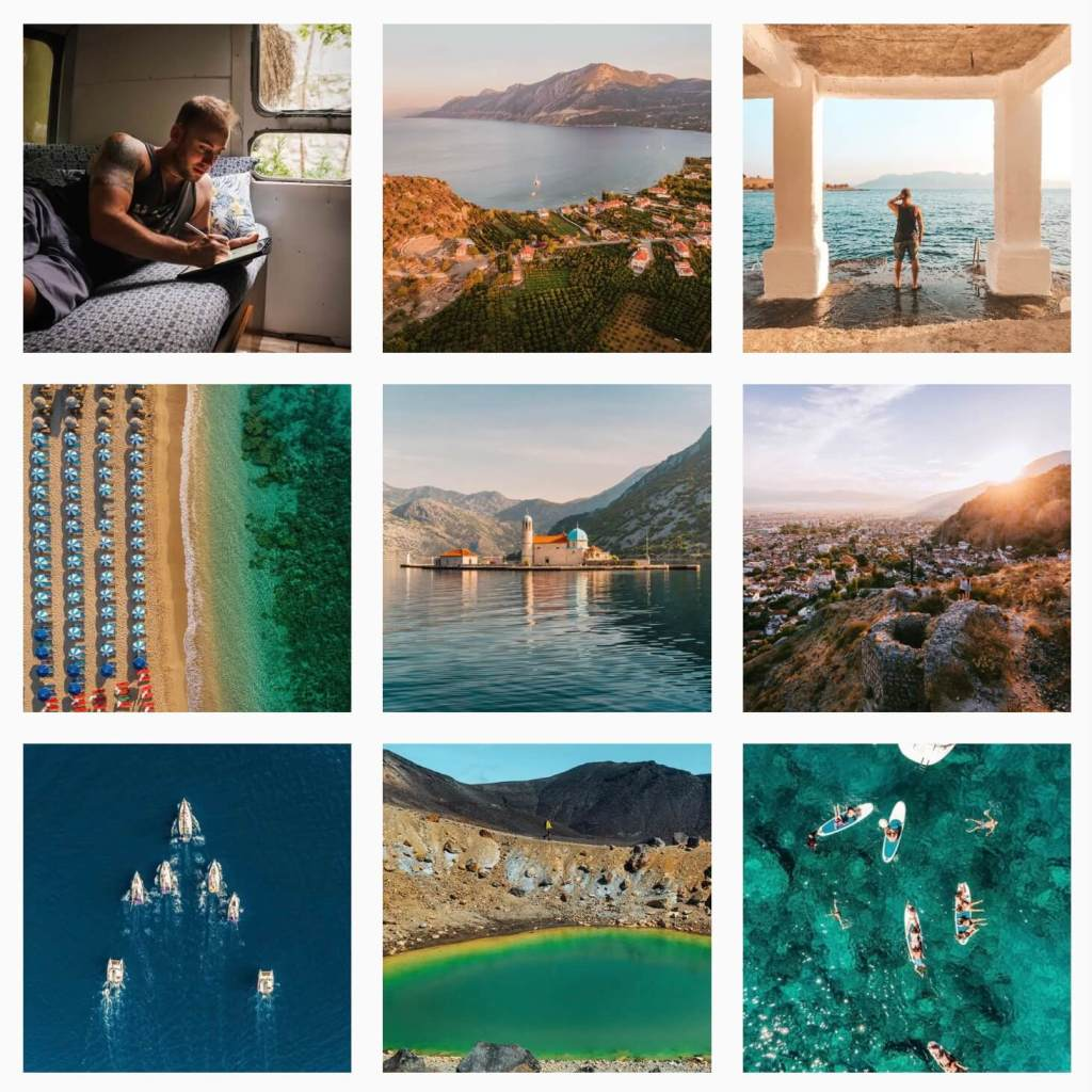Work with travel blogger Lost Boy Memoirs Instagram graphic