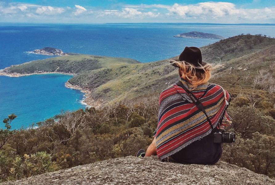 Wilsons Promontory Sitting Victoria Australia