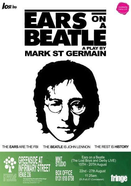 Ears on a Beatle Final Ed Fringe