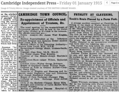 150101 List of CambridgeCouncil Officials