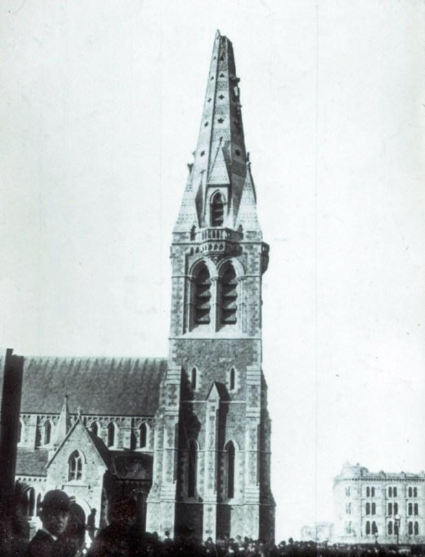 Damaged Spire 1888