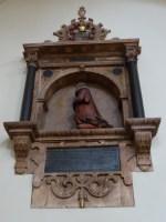 Memorial inside St Bartholomew the Less