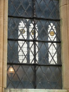 Stained-glass window, Great Hall