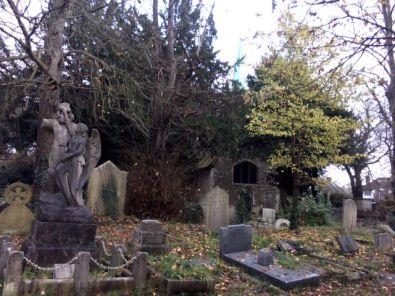 Graveyard of old church