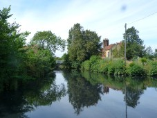 Moated manor house