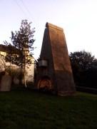Nineteenth-century Loudon memorial in churchyard