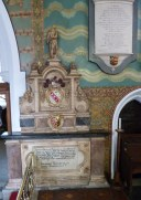 7 - Memorial to George Huxley (d. 1627)