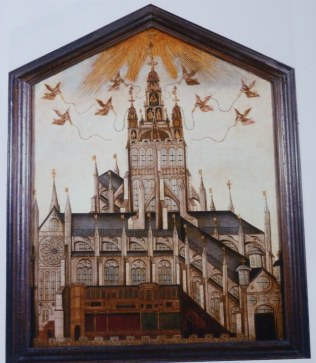 2-right-panel-of-society-of-antiquaries-diptych-showing-vision-of-old-st-pauls-with-spire