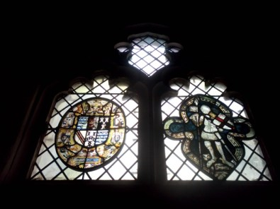 2 - Fifteenth-century stained glass in Cecil Chapel