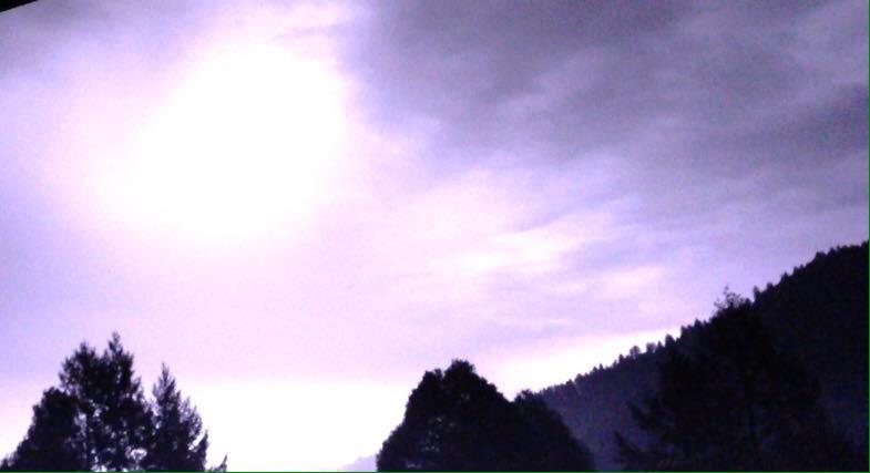 California Light Traffic Storm Lightning