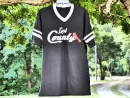 Striped Jersey Tee Black