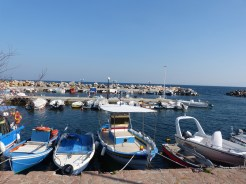 Blue Greek Fishing boats are my favourite