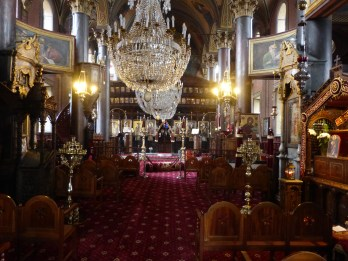 Greek Orthodox Cathedrals are very shiny
