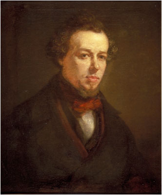Benjamin Disraeli as a Young Man