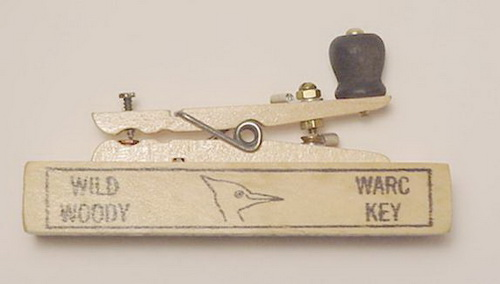 Not that telegraph keys are much in demand these days, but this is a fully functional model,