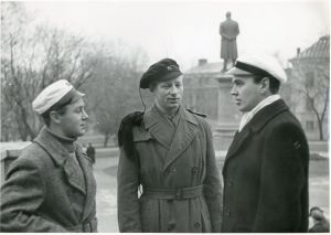 Scandinavian Student Hats. The Danish, Norwegian and Swedish (1945).