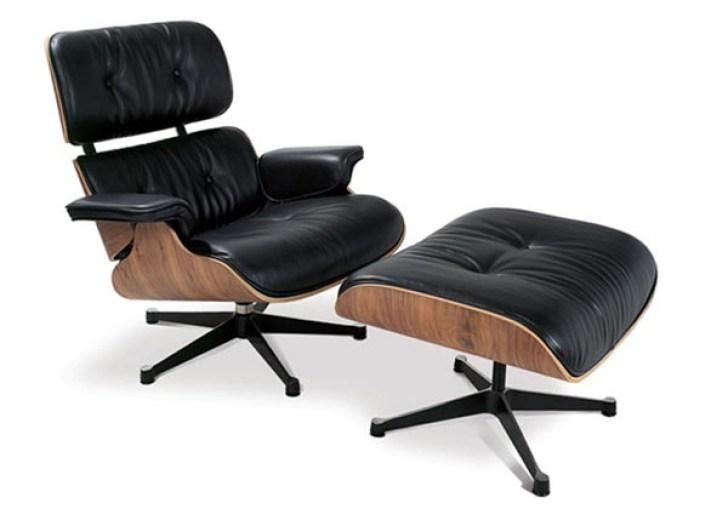 Mid Century Chair Ottoman