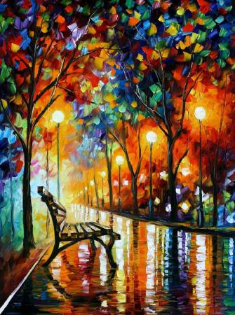 Leonid Afremov - Loneliness Of Autumn