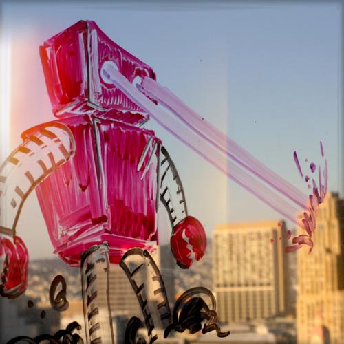 Big angry robot