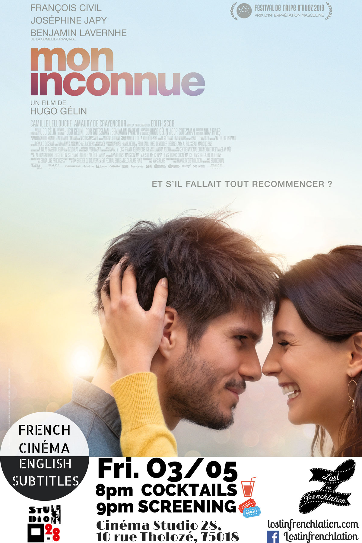 Film Mon Inconnue Streaming : inconnue, streaming, Inconnue, Frenchlation, French, Films, English, Subtitles, Paris
