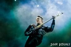 The XX live at Lowlands - ph Saar de Graaf