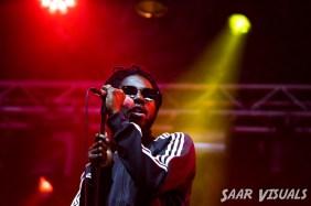 Chronixx live at Lowlands - ph Saar de Graaf