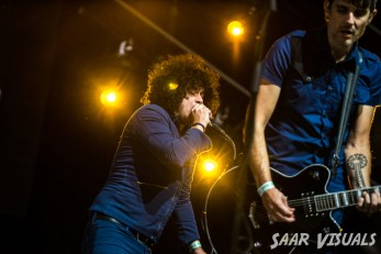 At the drive in live at Lowlands - ph Saar de Graaf