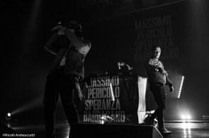 Massimo Pericolo + Speranza + Barracano - Alcatraz, Milano, 12 novembre 2019 - Foto di N. Andreuccetti