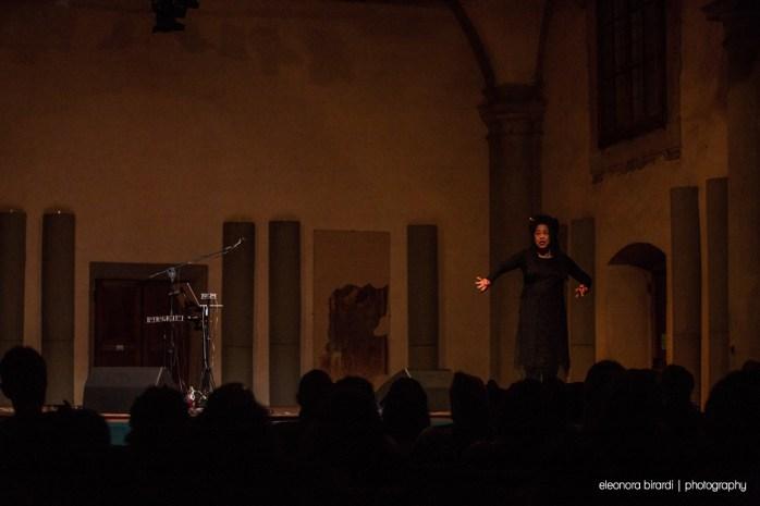 Pamela Z - Sala Vanni, Firenze, 28 febbraio 2020 - foto di E. Birardi