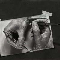 Hyper-Realistic Pencil Drawings Look Like Photographs