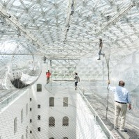 Tomas Saraceno's 'In Orbit' Suspends Visitors Over 65 Feet High