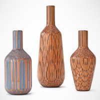 Gorgeous Vessels Carved from Pencils Take the Lead