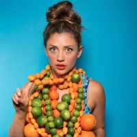 Fruit and Vegetables As Fashion