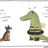 Liz Climo's Not-So-Scary Halloween Comics
