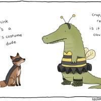 Liz Climo's Not-So-Scary Halloween Comics