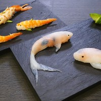Edible Art: Koi Fish Sushi