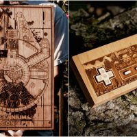 Spitfire Labs' Laser-Engraved Wood Plaques are Nostalgic